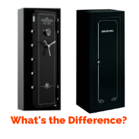 Difference Between a Gun Safe and a Gun Cabinet