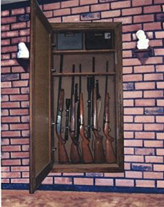 image of the In the Wall Mirrored Gun Cabinet Hardware Kit