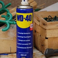 WD40 for gun