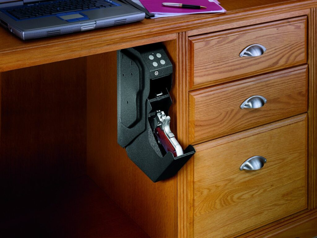 sample picture of one of the best nightstand gun safes