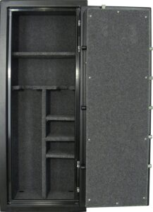 professional looking interior of a safe with proper lining