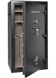 picture of a sample gun safe weight that is heavy